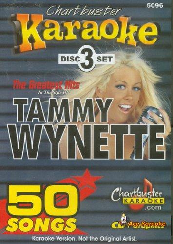 Chartbuster Karaoke CDG 3 Disc Pack CB5096 - Tammy Wynette