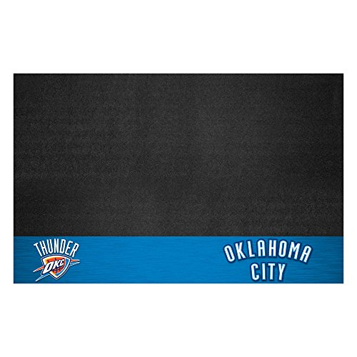 Fanmats NBA Oklahoma City Thunder Grill Mat, Small