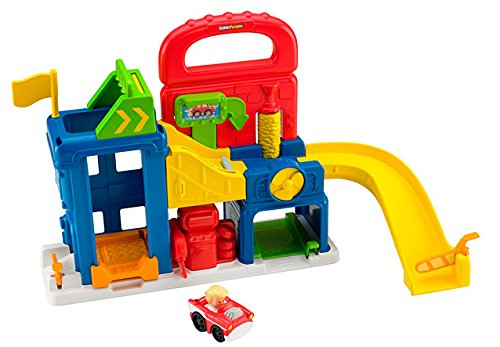 little people wheelies garage - 5