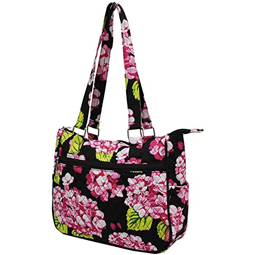 (Hydrangea NGIL Quilted Hobo Style Fashion Handbag)