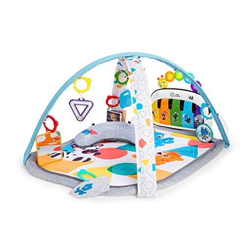 4-in-1 Kickin' Tunes Music and Language Discovery Activity Play Gym (Best Baby Mats And Gyms)