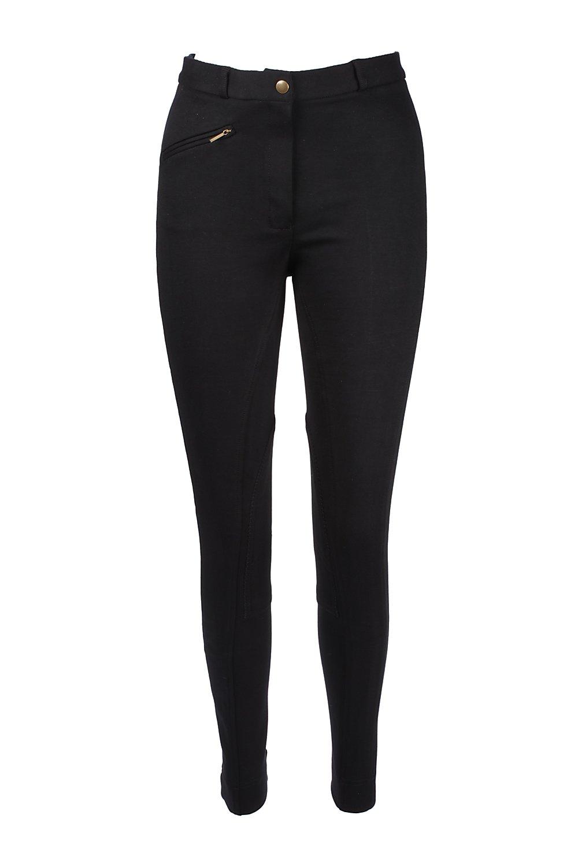 Color Negro Pantalones de Equitaci/ón Jodphurs de Tela Suave y El/ástica para Dama