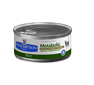 Hills Feline Metabolic Comida para Gatos - 156 gr: Amazon ...