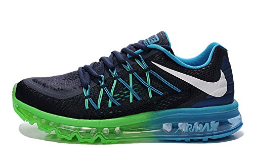 new styles 36920 d84d5 Nike Airmax 2016 Black Green Blue Running Sports Shoes for Mens  Buy Online  at Low Prices in India - Amazon.in