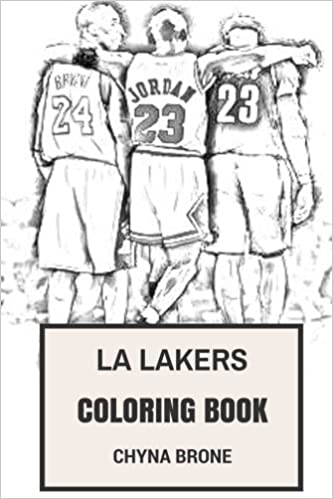 LA Lakers Coloring Book: Los Angeles NBA Artists Fans and ...