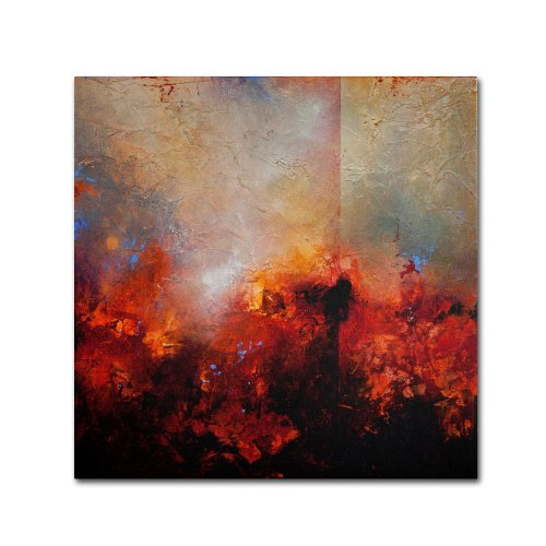Red Earth by Cody Hooper, 35 by 35-Inch Canvas Wall Art