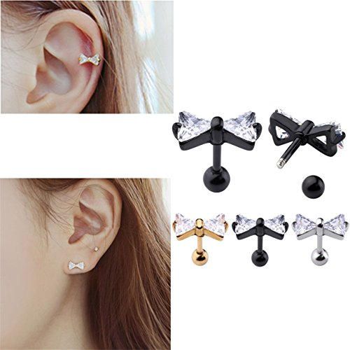 JOVIVI Stainless Barbell Cartilage Piercing