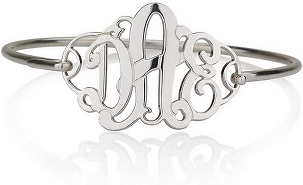 "Monogram Bracelet 1.25""..."