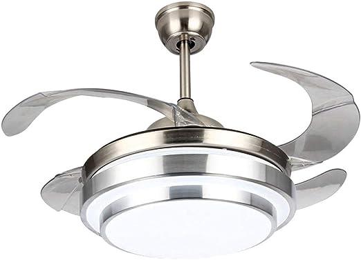 G& L 42 luz del Ventilador de Techo de Hoja retráctil,lámpara ...