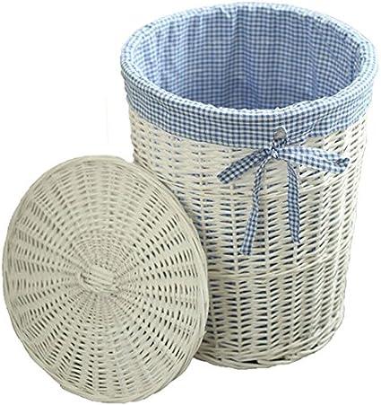 LiRuShop Cestos para la Colada Cesta de lavadero Caja de Almacenamiento Cesta de Secado Cesta de
