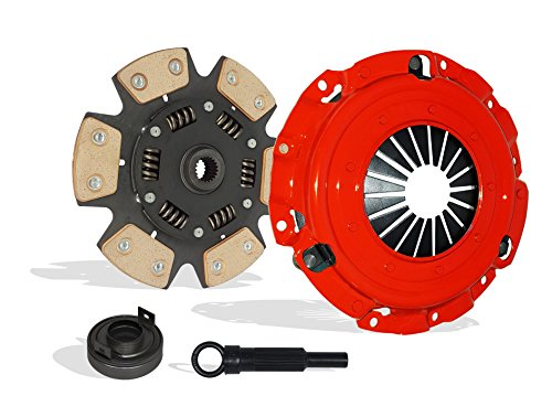 Clutch Kit Works With Set Mitsubishi Eclipse Spyder Gs Se Hatchback Convertible 2006-2012 2.4L 2378CC l4 GAS SOHC Naturally Aspirated (6-Puck Disc Stage 3)
