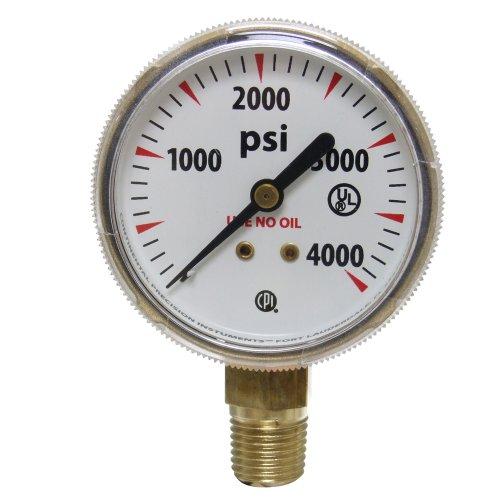 4000 psi pressure gauge - 1