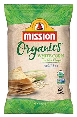 - Mission Organics White Corn Tortilla Chips, 9 oz.