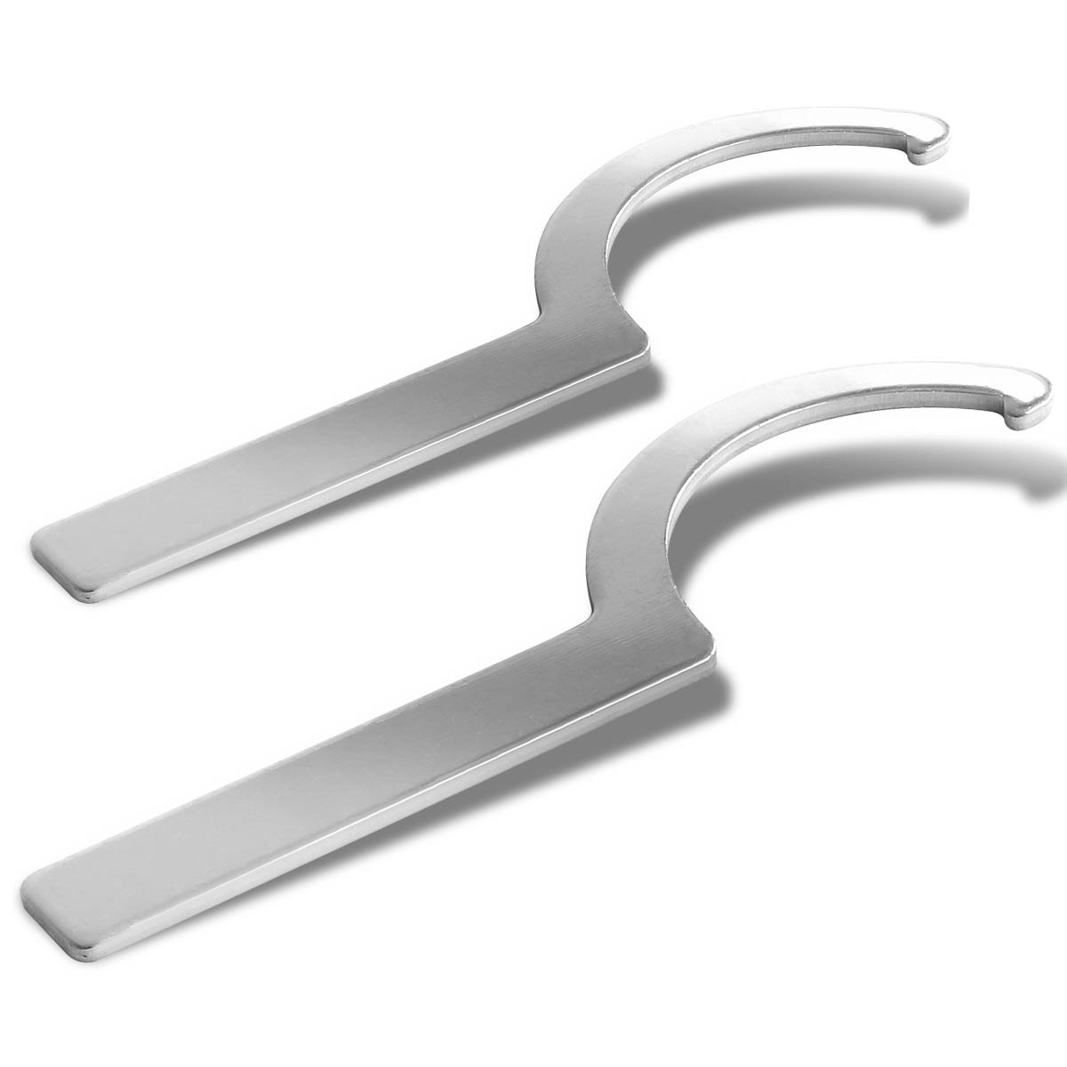 Aluminum Coilover Damper Sleeve Spanner Wrench (Pack of 2) Auto Dynasty