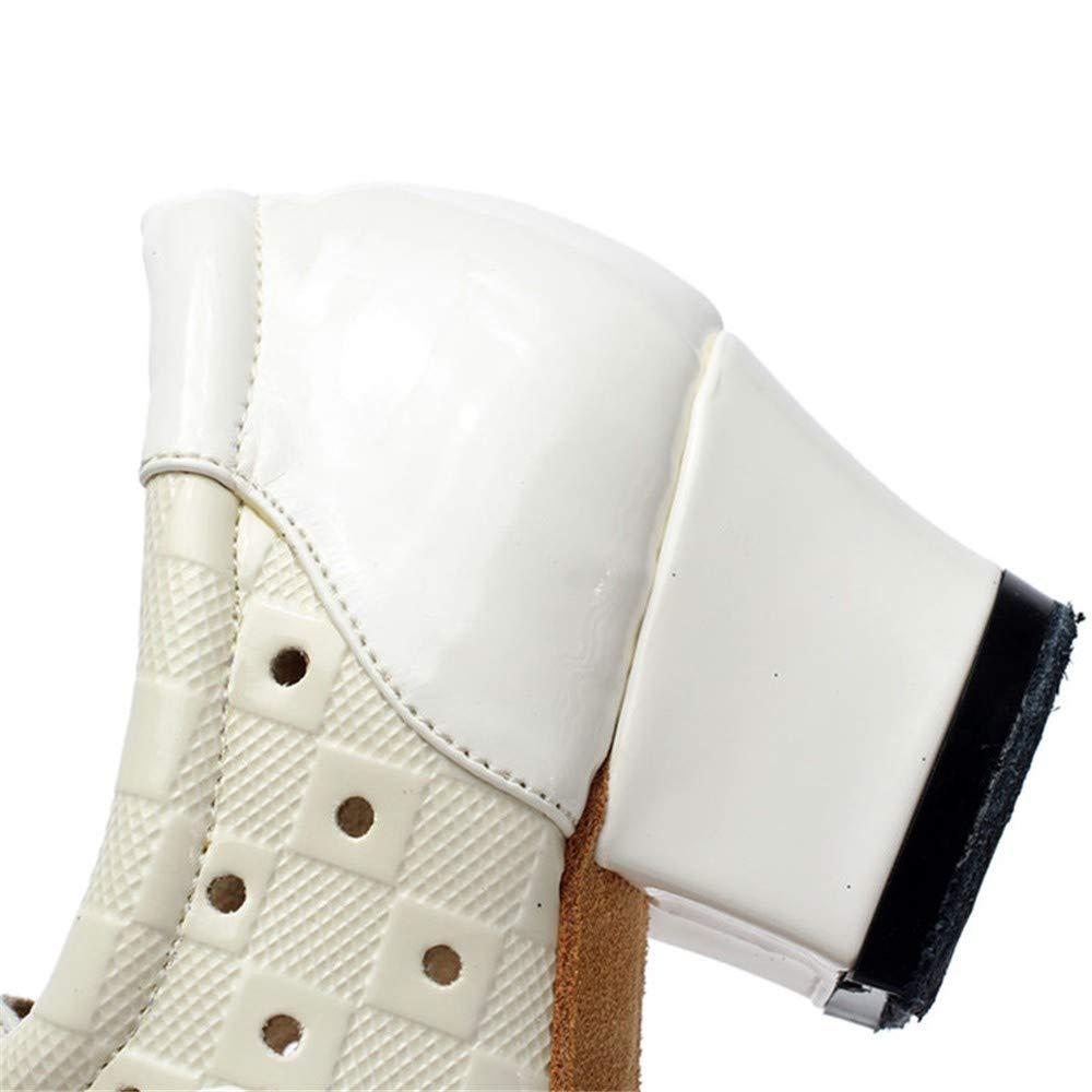 HCCY Chunky Bianco con Scarpe da Ballo Ballo Ballo Moderne da Donna Scarpe da Ballo Latino a Tacco Basso Fondo Interno Morbido b9b453