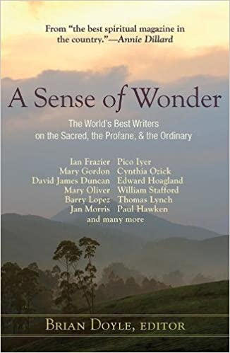 a sense of wonder the world s best writers on the sacred the a sense of wonder the world s best writers on the sacred the profane and the ordinary brian doyle 9781626982086 com books