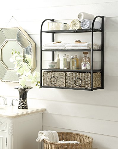 4d Concepts Storage (4D Concepts 603120 Windsor Storage Unit with Two Baskets)
