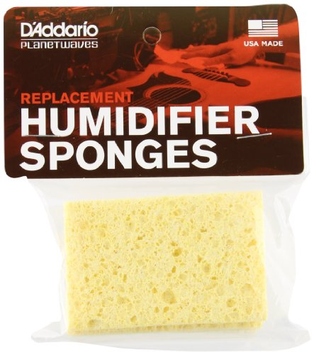 Price comparison product image Planet Waves Acoustic Guitar Humidifier Replacement Sponges, 3 Pack