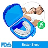 Airror Mouth Guards for Teeth Grinding, 2018 Upgraded Anti Snoring Devices Aid Snore Reducing for Natural and Comfortable Sleep
