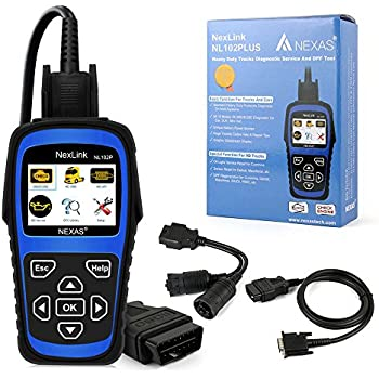 Amazon com: NL102PLUS Heavy Duty Truck Diesel HD DPF Diagnostic