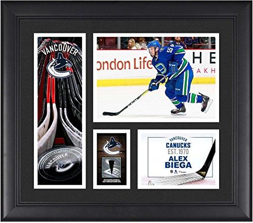 Alex Biega Vancouver Canucks Framed 15
