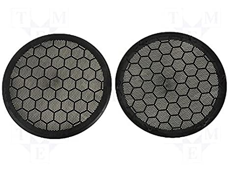 Rejilla de Altavoz para Volkswagen Golf IV, Passat Protectora Barbacoa Color Negro 165 mm: Amazon.es: Electrónica