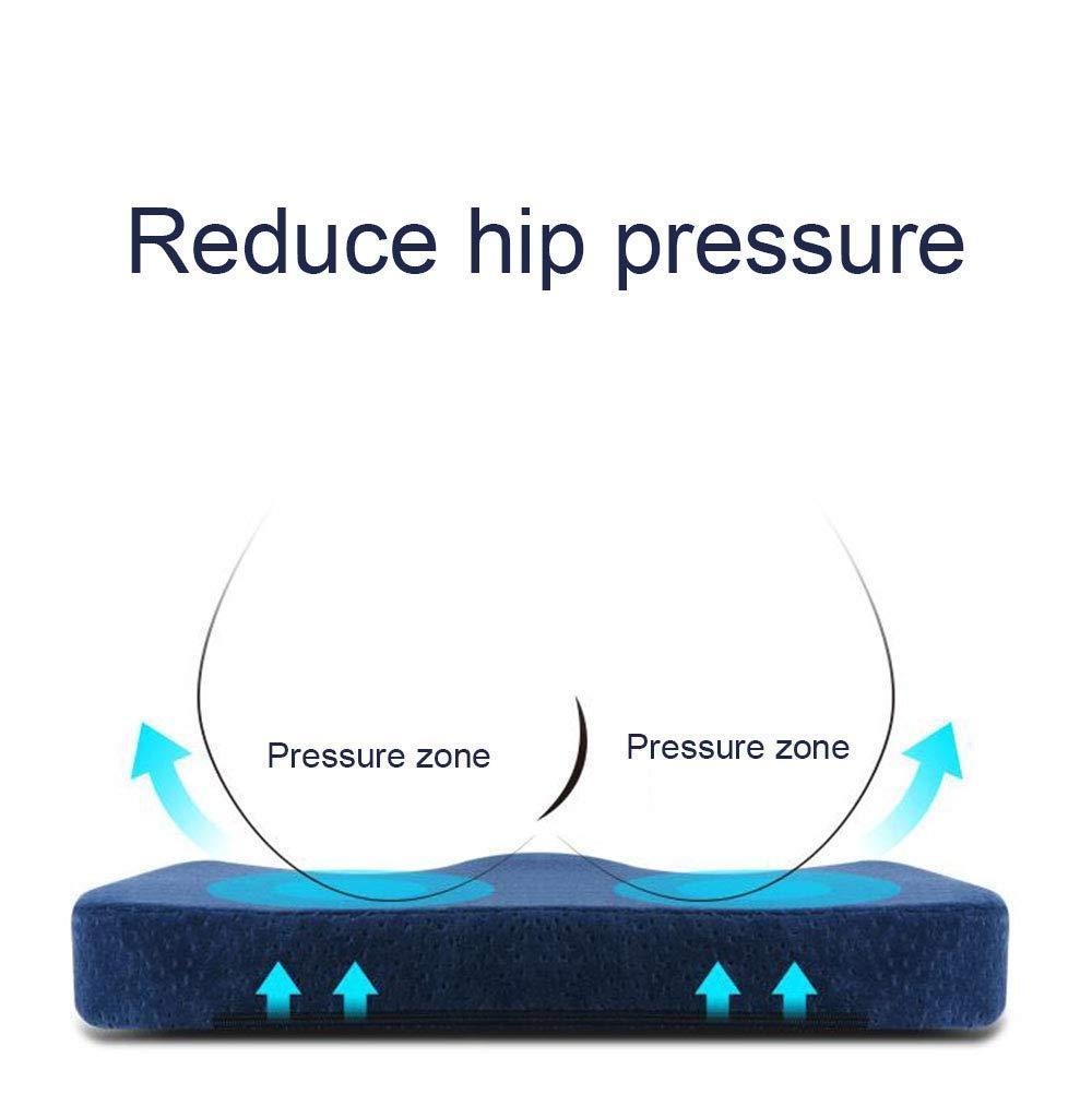 Amazon.com: KOSHSH Cojín ortopédico de espuma viscoelástica ...