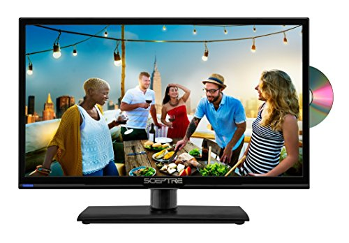 Find Discount Sceptre E205BD-S 20 Inch 720p LED HDTV With Built-in DVD Player, Fine Black 2017