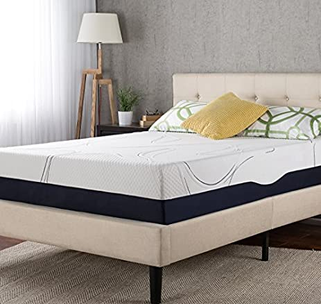night therapy mygel 13 inch memory foam mattress cal king