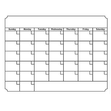 Ototon Calendario magnético mensual para frigorífico Pegatinas ...