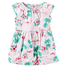Carter's Baby Girls' Jersey Dress and Diaper Cover Set