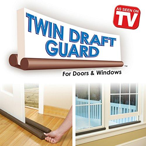 Twin Draft Guard Door Window Energy Saving As Seen On Tv