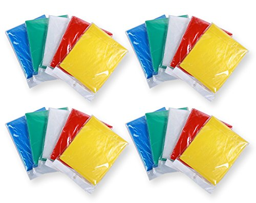 Disposable Emergency Fashion Poncho Adults product image