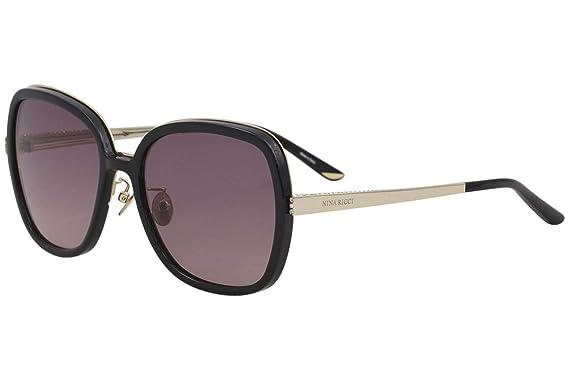 46bc2d05b771 Sunglasses Nina Ricci SNR 107 S Black 0Z42: Amazon.co.uk: Clothing
