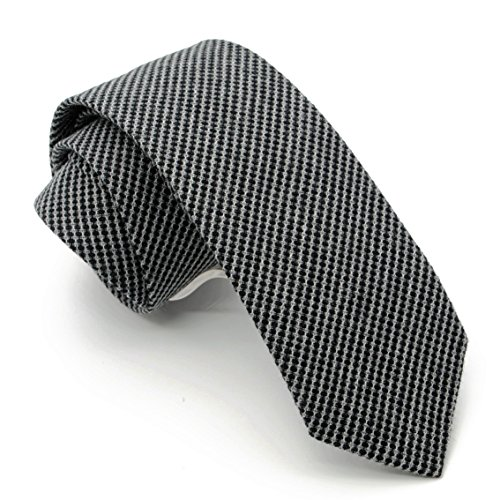 Black Dots Mens Necktie - 9