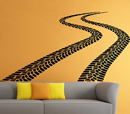 Car Auto Automobile Housewares Wall Vinyl Decal Garage Art Design Modern Interior Decor Sticker Mural (21erte)