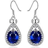 Womens Fashion Jewelry Crystal Hook Dangle Earrings by Joyfulshine