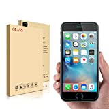 iPhone 6 6S 7 Screen Protector Glass, Tempered Glass Mobile Phone Smartphone Guard 9H Cover Film Case, by E4go