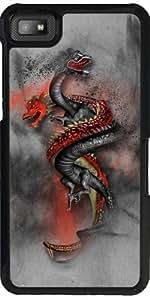 Funda para Blackberry Z10 - Double Dragon 2 by Illu-Pic.-A.T.Art