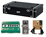 Gator Gig-Box Jr. PWR Pedal Board Bundle w/ Line 6 DL4 Stompbox Delay Modeler / TC Electronic Ditto Looper Pedal