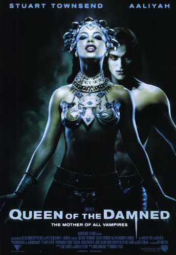Queen of the Damned Poster Movie 11x17 Aaliyah Stuart Townsend Marguerite Moreau Vincent