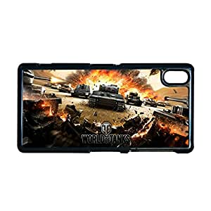 Generic Great Phone Case For Man Design With The World Of Tank For Sony Z2 Choose Design 2