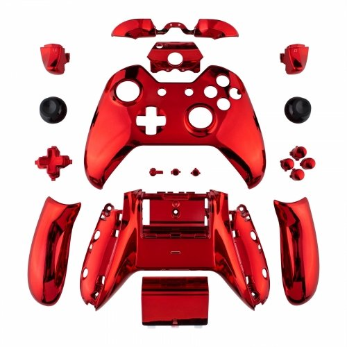 xbox red chrome controller - 1