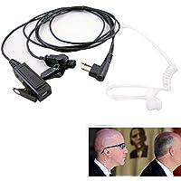 CBK 2 Wire Surveillance MIC Earpiece for Motorola CP200 PR400 CLS HYT Radio Headset