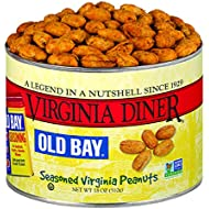 Virginia Diner Peanuts, Old Bay Seasoned, 18-Ounce