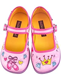 Mini Chocolaticas Princesa Girls Mary Jane Flat