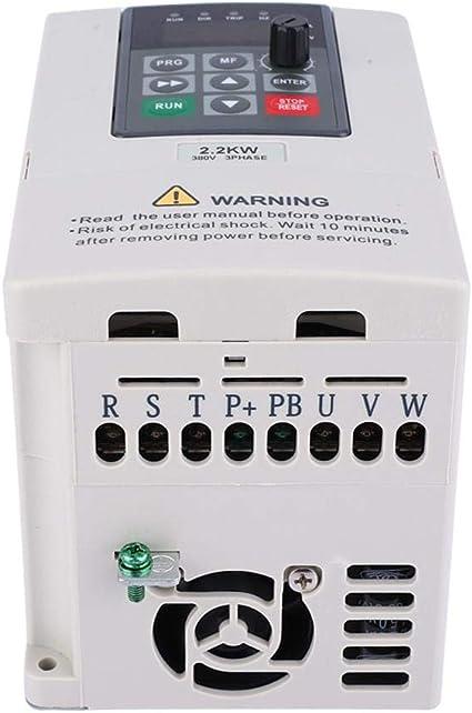 Jadpes Variable Drive, 380V 2.2KW VFD Variador de frecuencia ...