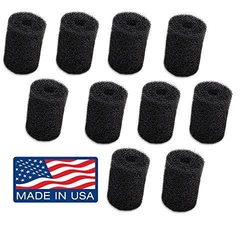 [해외]Vac-Sweep Pool Cleaner 호스 테일을위한 10-Pack Polaris Tail Scrubber 교체 - 180, 280, 360, 380, 480, 3900 스포츠에 적합 - MADE IN THE USA/10-Pack Polaris Tail Scrubber Replacement for Vac-Sweep Pool Cleaner Hose Tail - Fits 180, 28...