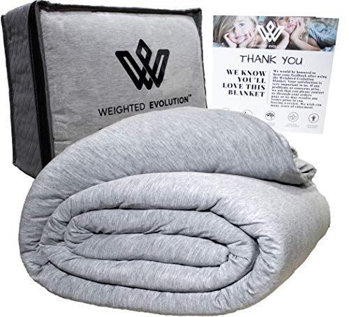 Weighted Evolution Cooling Weighted Blanket+ Bonus Organic Bamboo Duvet Cover  review