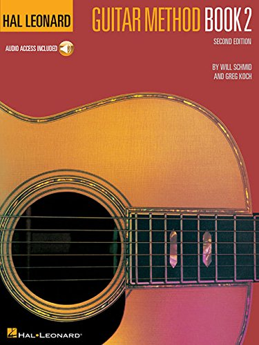 Hal Leonard Guitar Method, Book 2 (Book & CD)